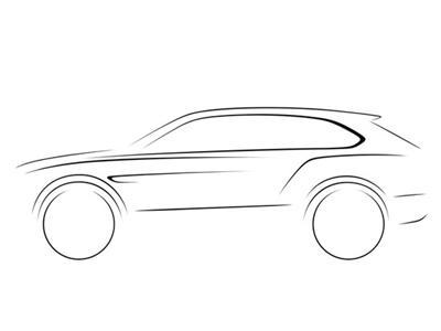 未来卡通汽车简笔画