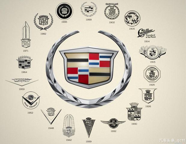 言归正传!想知道这个百岁老人到底经历了多少风雨?下面就来看看凯迪拉克的换标进化史。 凯迪拉克诞生于被誉为美国汽车之城的底特律。自从1902年亨利利兰德创立凯迪拉克品牌以来,旗下车型就凭着高性能和高品质打造出了Cadillac的金字招牌。也许你不知道在长达114年的历史长河中,凯迪拉克共经历了大大小小38次换标。平均3年就换一次标啊! 最早期的凯迪拉克标志