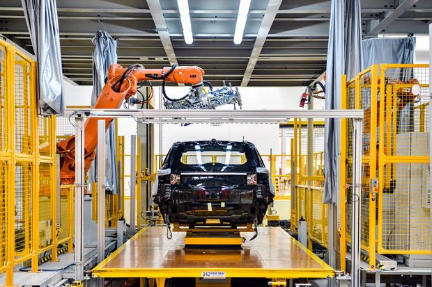 奇瑞捷豹路虎常熟工厂高效运转的背后:智能制造