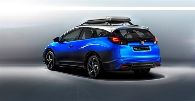 或法兰克福车展发布 本田发布思域旅行概念车