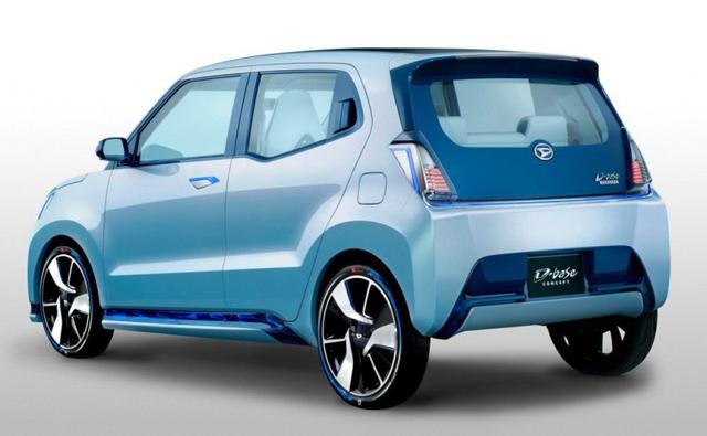 大发是日本一家主要生产微型车的品牌,d-base概念车是典型的k-car,其