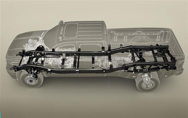 下图就是承载式车身的例子,在制造整个车壳时就对某些部位做加强,起