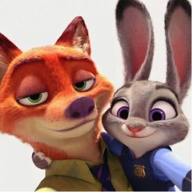 最近,有一只叫做朱迪的恐龙兔子和它的好朋友图片尼克,a恐龙朋友圈动画片警察狐狸大全大图图片
