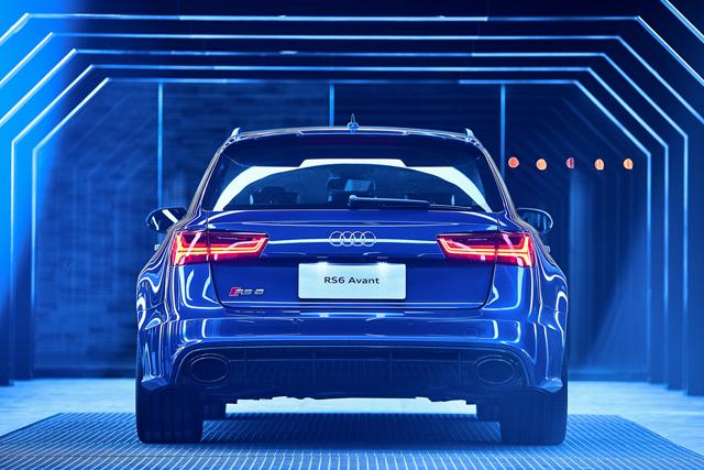 炽热的保姆 奥迪RS6 Avant诠释高性能瓦罐新定义2